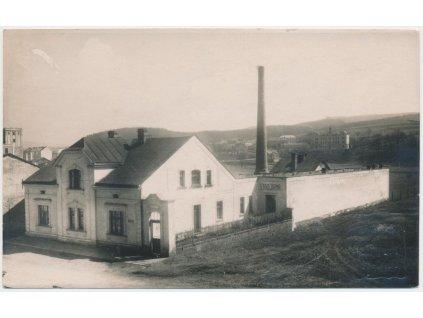 38 - Náchod, partie u strojírny, foto Bárta...