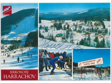 Ploc Pavel(1964), skokan na lyžích a politik, pohlednice s podpisem