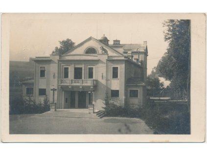 70 - Orlickoústecko, Kyšperk - Letohrad, Divadlo, cca 1928
