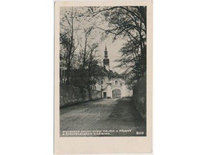 51 - Praha - západ, Hájek, partie u Františkánského kláštera, Foto Fon