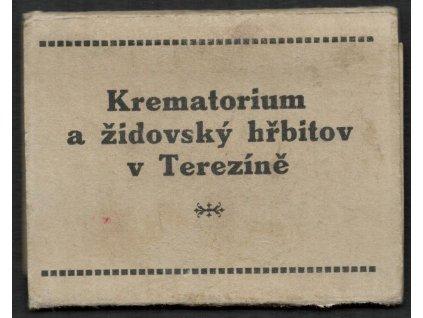 33 - Litoměřicko, Terezín, Krematorium a židovský hřbitov - leporelo