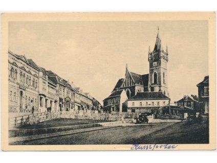 45 - Pelhřimovsko, Humpolec, horní náměstí