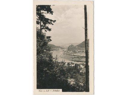 69 - Ústecko, Střekov, pohled na město, Foto Fon