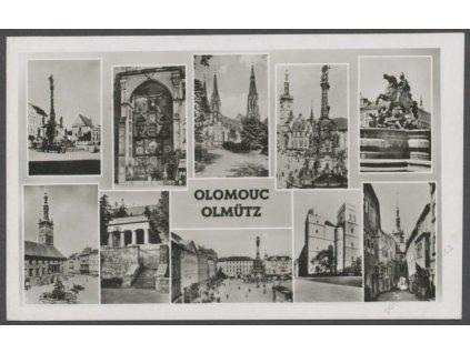 41 - Olomouc (Olmütz), části města, cca 1940
