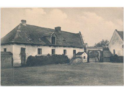 57 - Rychnovsko, Skalka, Machovcova myslivna, cca 1935