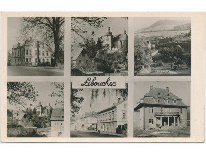 69 - Ústecko, Libouchec, 6 - ti záběr dominant obce, cca 1965