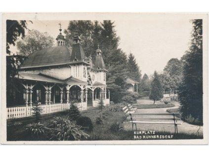 32 - Liberecko, Lázně Kundratice, lázeňský park, cca 1931