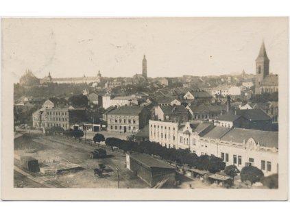 31 - Kutná Hora, pohled na historické město, Grafo Čuda, ca 1927