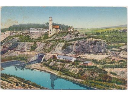 66 - Trutnovsko, Těšnov, Stavba labské nádrže, cca 1914