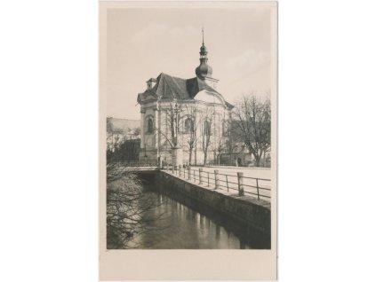 19 - Královéhradecko, Smiřice, Kaple Zjevení Páně, Grafo Čuda, ca 1945