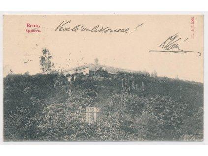 04 - Brno - město, partie pod hradem Špilberk, cca1905