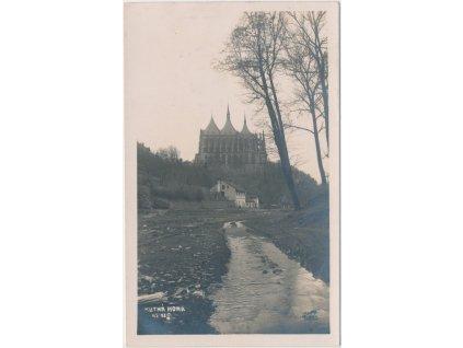 31 - Kutná Hora, partie pod Chrámem sv. Barbory, cca 1928