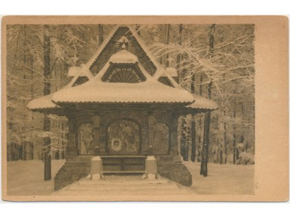 30 - Kroměřížsko, Svatý Hostýn, Křížová cesta v zimě...