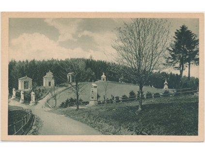 30 - Kroměřížsko, Svatý Hostýn, Křížová cesta, poutní místo