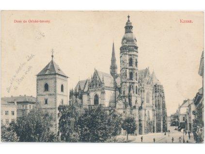 Slovensko, Košice - Kassa, Katedrála, cca 1928