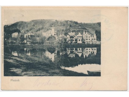 04 - Brno, Pisárky, pohled na vilovou čtvrť, cca 1902