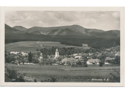 Rakousko, Hernstein, celkový pohled, cca 1935