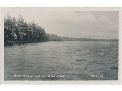 75 - Žďársko, Velké Dářko, Českomoravská vysočina, Rybník, cca 1925