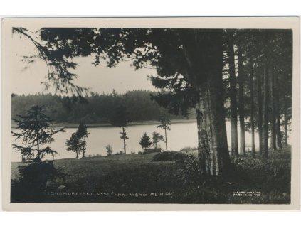 75 - Žďársko, Českomoravská vysočina, partie u rybniku Medlov, ca 1939