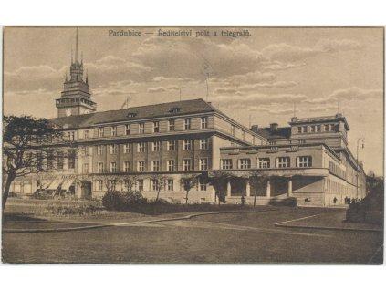 44 - Pardubice, Ředitelství pošt a telegrafů, cca 1929