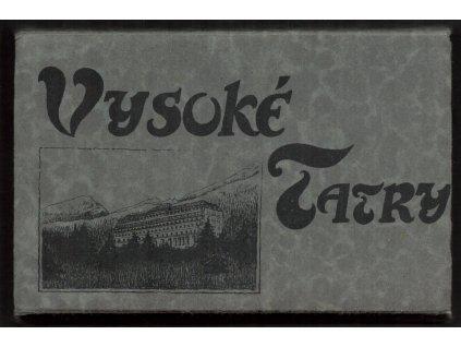 Slovensko, Vysoké Tatry, pohlednicové leporelo