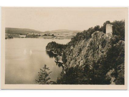 10 - Chrudimsko, Seč, partie u údolní přehrady