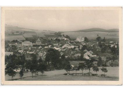 54 - Příbramsko, Sedlčany, celkový pohled na město