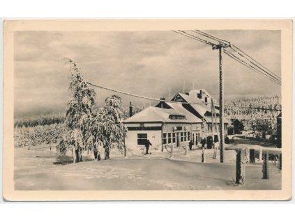65 - Teplicko, Moldava - Krušné hory , Hotel Hranice, cca 1953