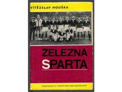 ČSSR, kopaná, Železná Sparta , unikátní publikace z roku 1966, podpis