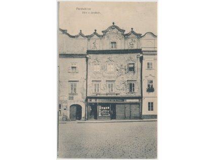 44 - Pardubice, Dům s Jonášem, cca 1917