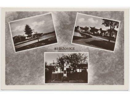 24 - Jindčichohradecko, Střížovice, 3 - záběr dominat obce, cca 1935