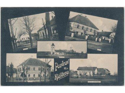 19 - Královéhradecko, Klášter nad Dědinou, 5 - ti záběr dominant, 1910