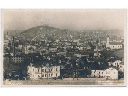 14 - Děčínsko, Varnsdorf, celkový pohled na město, cca 1926