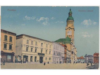 51 - Praha - západ, Černošice, pohled na město, nákl. F. Zuna, ca 1908