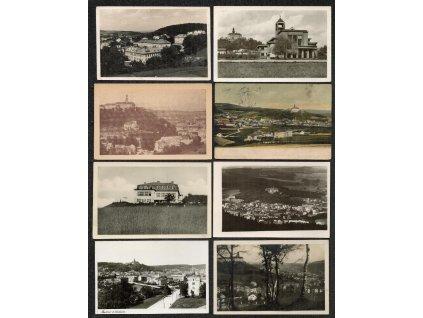 38 - Náchod, sestava 16 - ti ks pohlednic, prošlé i neprošlé poštou