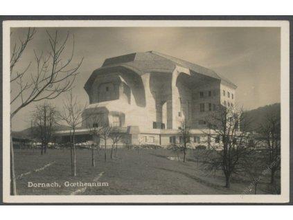 Switzerland, Dorneck, Dornach, Goetheanum, publ. Metz, cca 1915