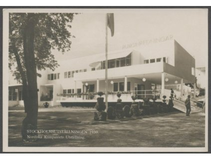 "Sweden, Stockholm, exhibition building ""Rumsinredningar"", publ. Svanström and Co., cca 1930"