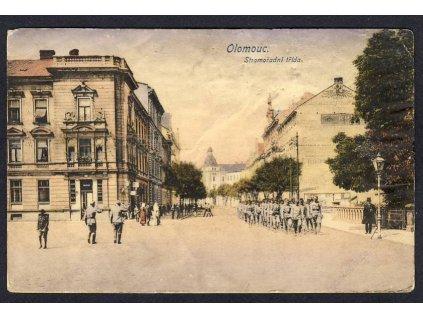 41-Olomouc, Stromořadní třída, cca 1917