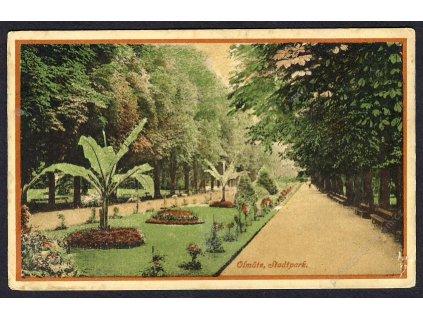 41-Olomouc, Městský park, cca 1915
