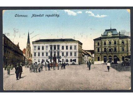 41-Olomouc, Náměstí republiky, cca 1921