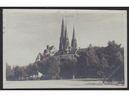 41-Olomouc, Partie s kostelem, cca 1932