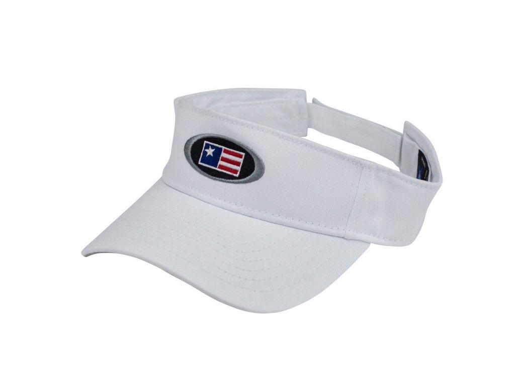visor white front