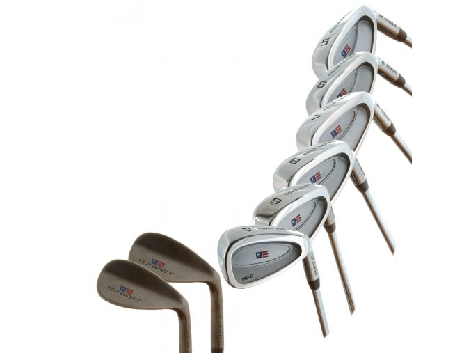 TS54 8 club iron set only Incl.: 5-PW,SW,GW, Graphite Shaft