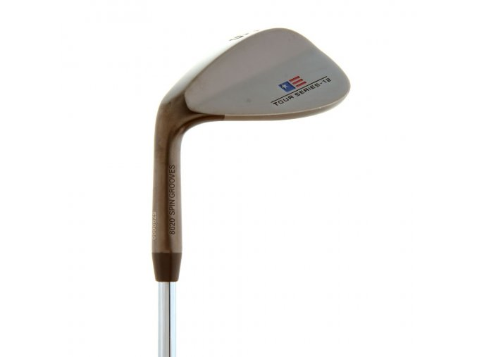 TS57 V-12 Black Nickel Sand Wedge, Steel Shaft (Držení LH)