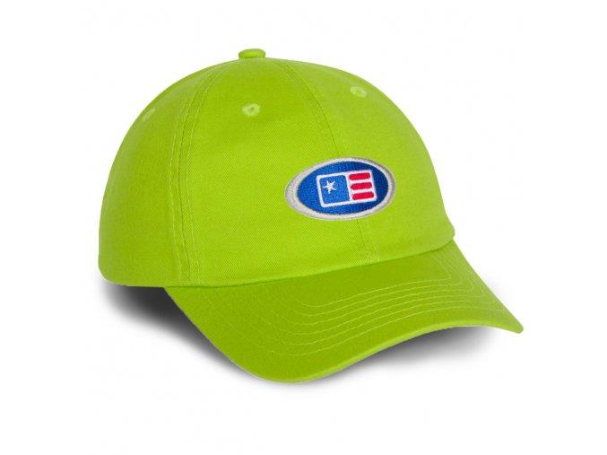 USKG Oval Twill Cap Green M/L