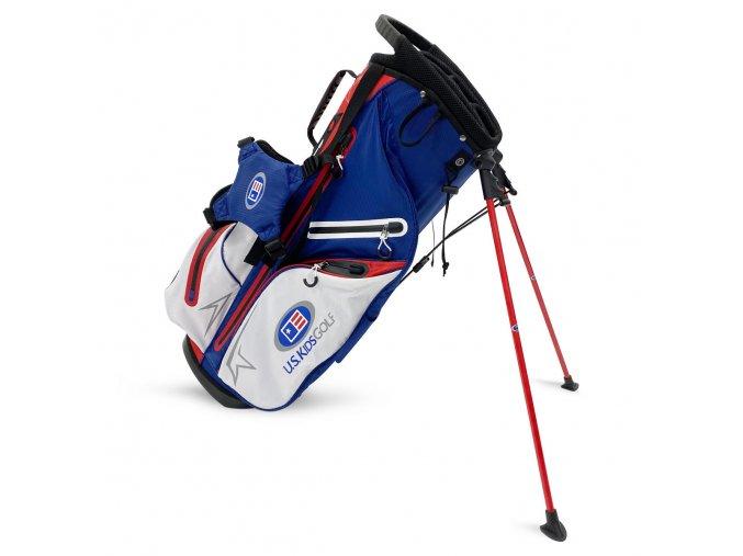 TS Tournament Bag, Navy/White/Red, 30 inch