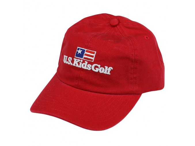 twill cap red front