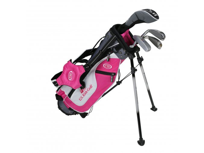 17561 UL45 WT 25 4Club Stand Bag Set pink