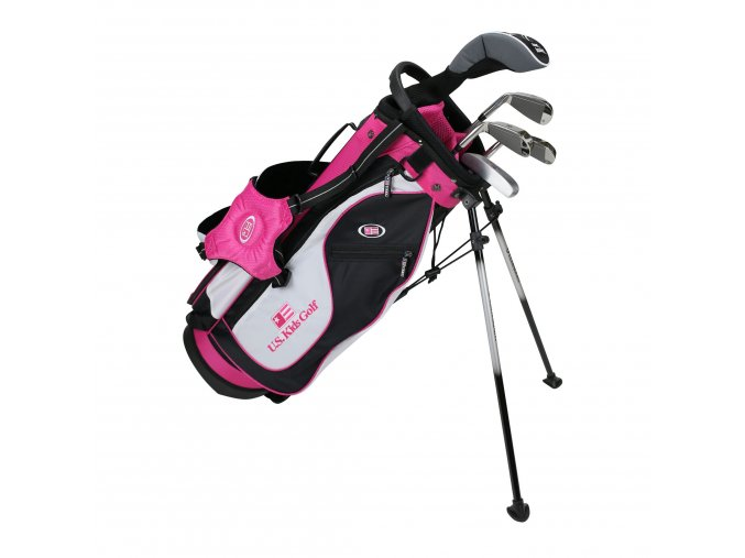 19562 UL51 WT 20 5Club Stand Bag black white pink