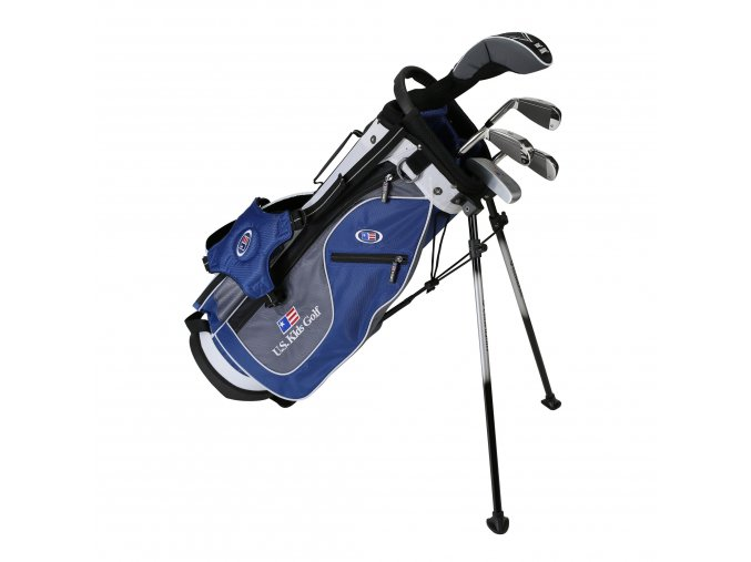 19561 UL51 WT 20 5Club Stand Bag blue grey white